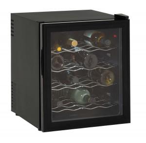 Avanti 16 Bottle Wine Cooler, Black, Reversible Glass Door (EWC1601B) - $49.99