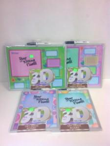 3D Dry Erase Boards