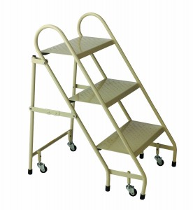Cramner 1130-19 Steel Folding Ladder, Beige