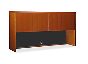 Lorell San Paulo Stack-On Storage Hutch, Cherry