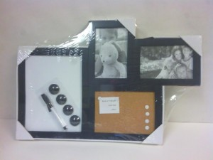 Photo/Cork/Dry-Erase Combo Board $5.00
