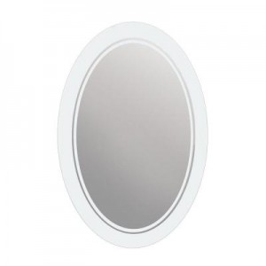 Frosted Oval Mirror GB 778009
