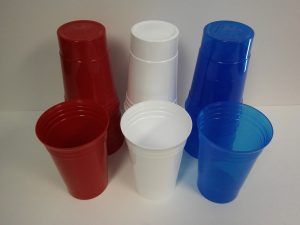 Reusable 20oz Cups ~ Red, White, or Blue ~ 5/$1.00