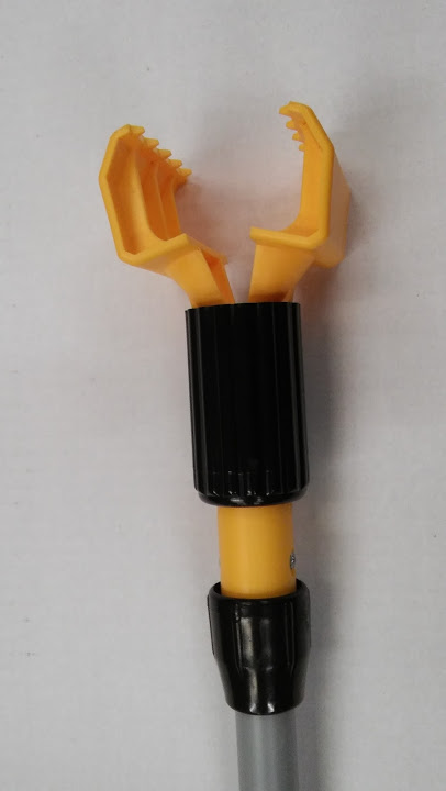 Mop Handle Rubbermaid Gripper Clamp Style Vinyl Covered