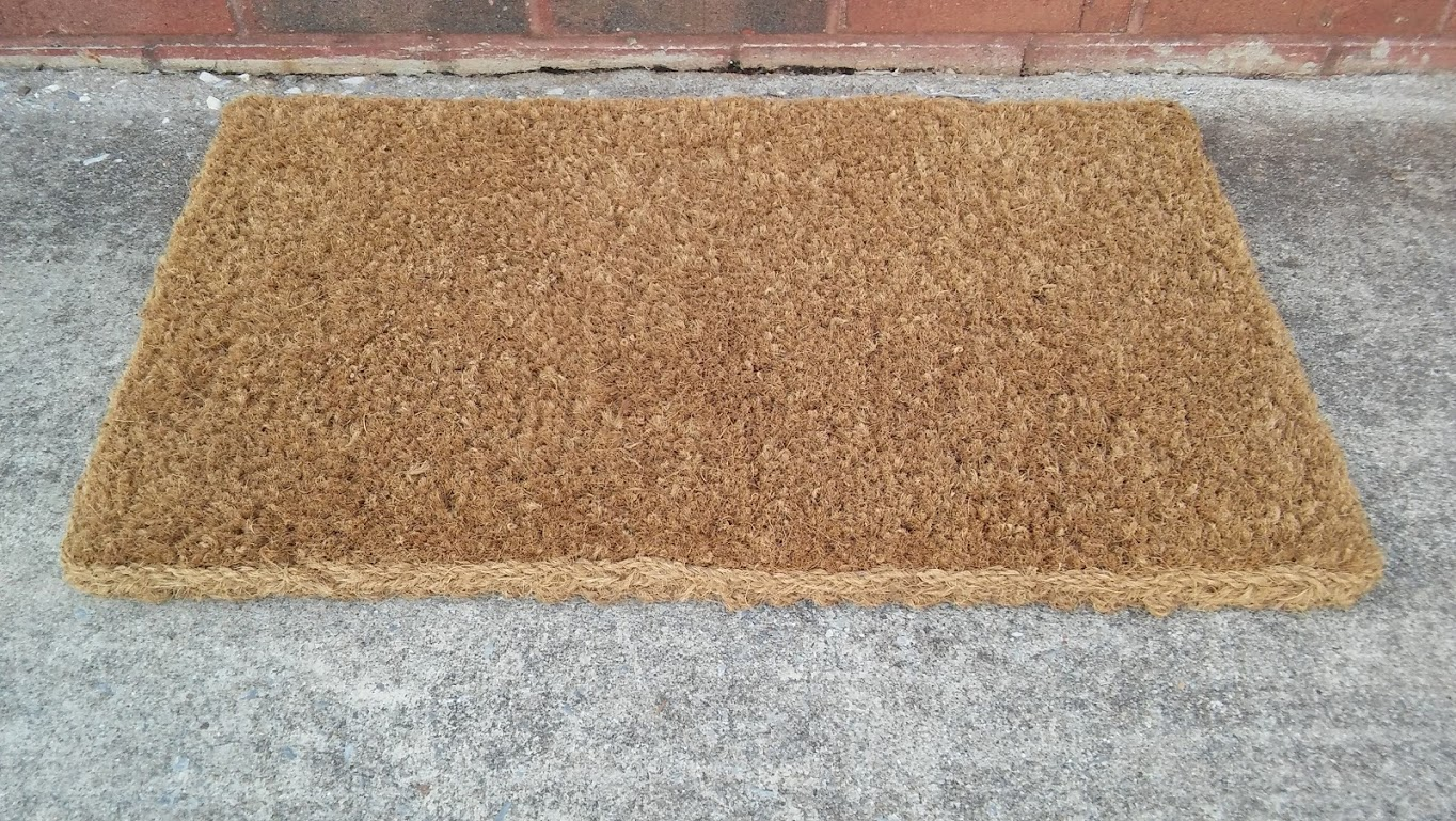 Coir Fiber Door Mat 22 X 36 A Amp M Office Supply