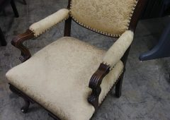 Antique Victorian Style Accent Side Chair