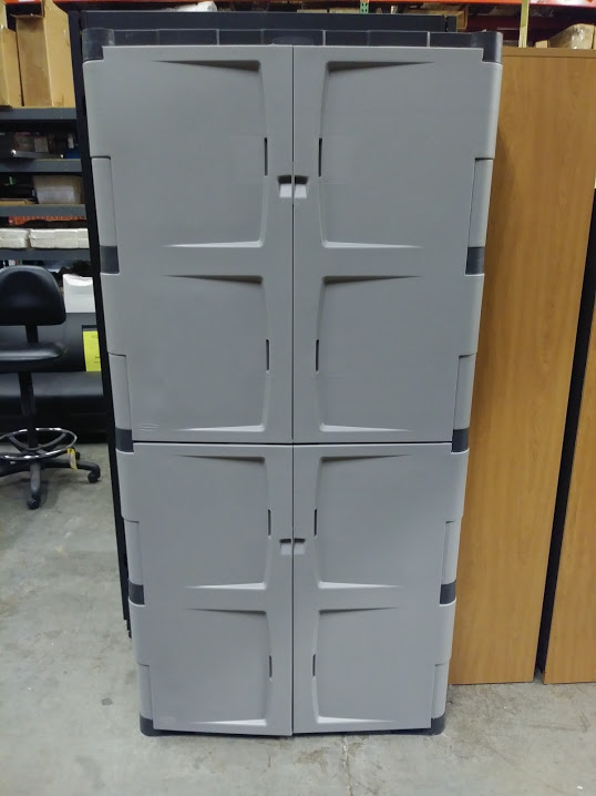 Storage Cabinet Rubbermaid 4 Door