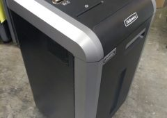 Micro-Cut 14 Sheet Paper Shredder, Fellowes Powershred 225Mi Jam-Proof Shredder with Continuous Duty Motor