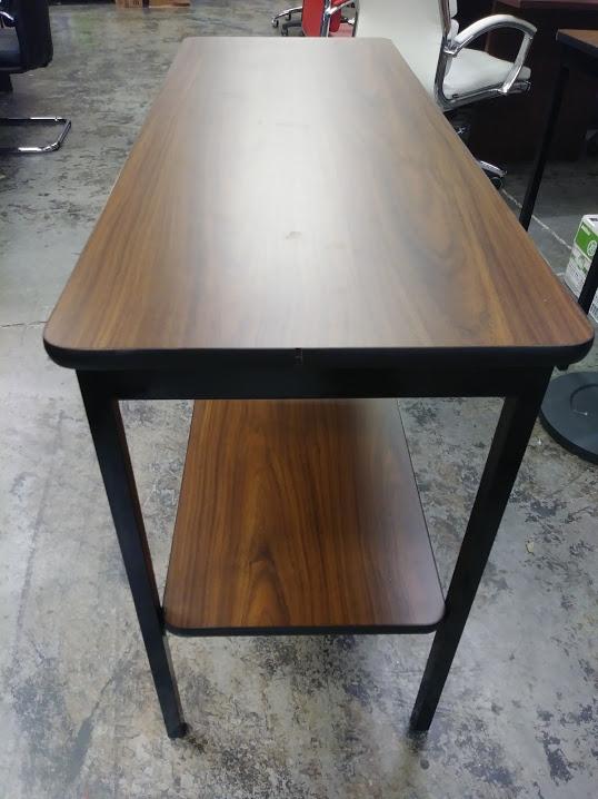 Heavy Duty Barricks Utility Table W Shelf A Amp M Office Supply