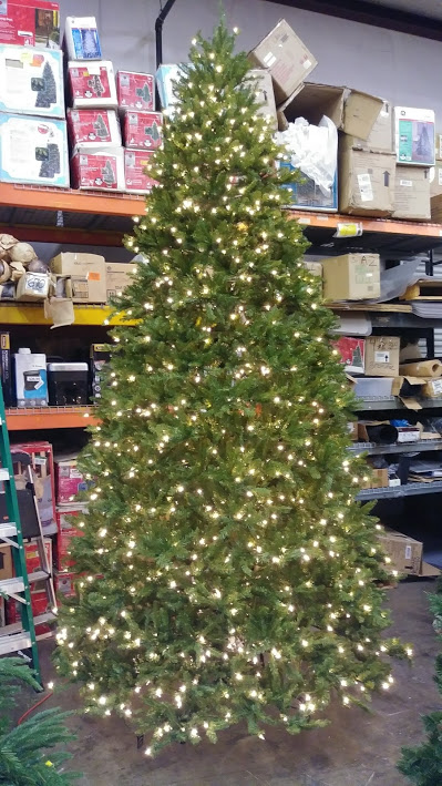 9d0d2a9e9e2 national tree company pre lit 12 dunhill fir hinged artificial christmas  tree with 1500 clear lights