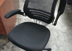 Modway Edge Mesh Back Office Chair with Flip Up Arms