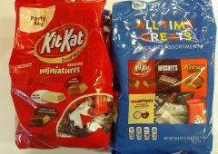 Candy ~ Easter Specials ~ Hershey's All-Time Greats Snack-Size Assortment 38.9oz ~ Kit-Kat Assorted Miniatures 36oz