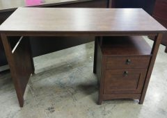 Bush Buena Vista One Computer Desk, Madison Cherry