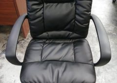 HON basyx VL171 Executive Mid-Back Office Chair, SofThread Leather