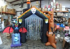 Halloween Airblown 10ft Haunted House Archway Inflatable