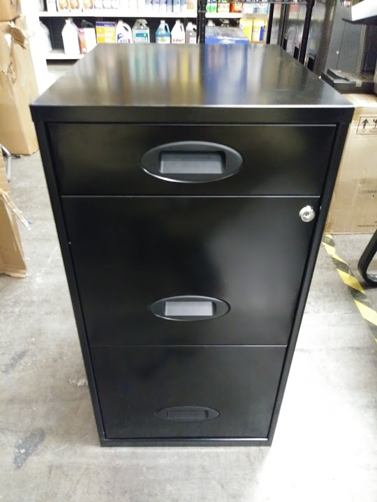 Soho File Cabinet 3 Drawer Under Desk By Reale